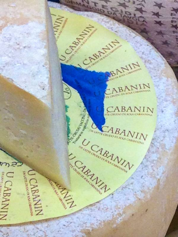 u cabanin cheese from sestri levante, liguria