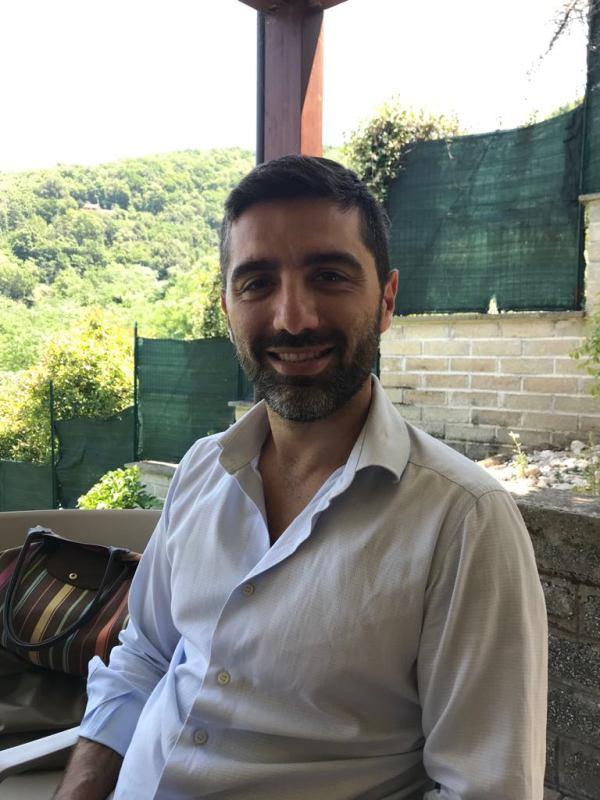 Emanuele Reali, 4th generation at Hosteria da Amedeo