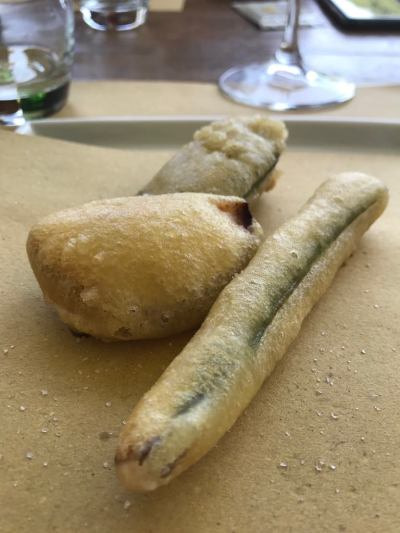 battered & deep-fried veggies