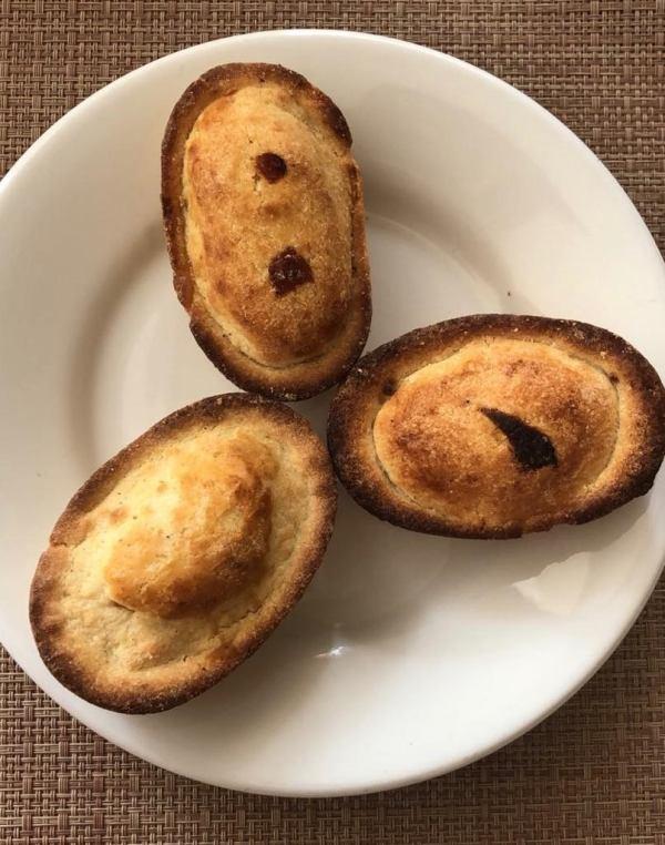 pasticciotto pastry from Puglia