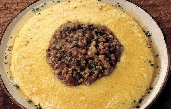 italian mushroom recipes: polenta and porcini