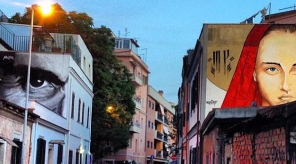 Street art in Pigneto