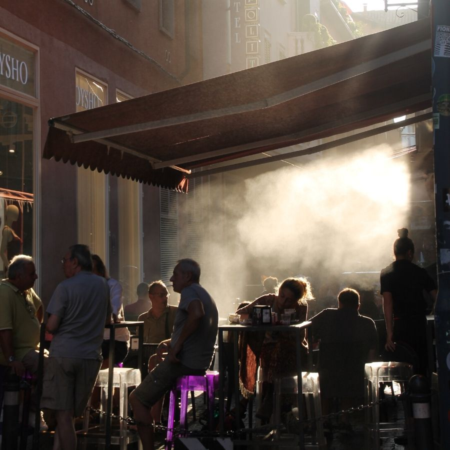 Bologna market and food