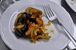 Learn to make caponata with Gina