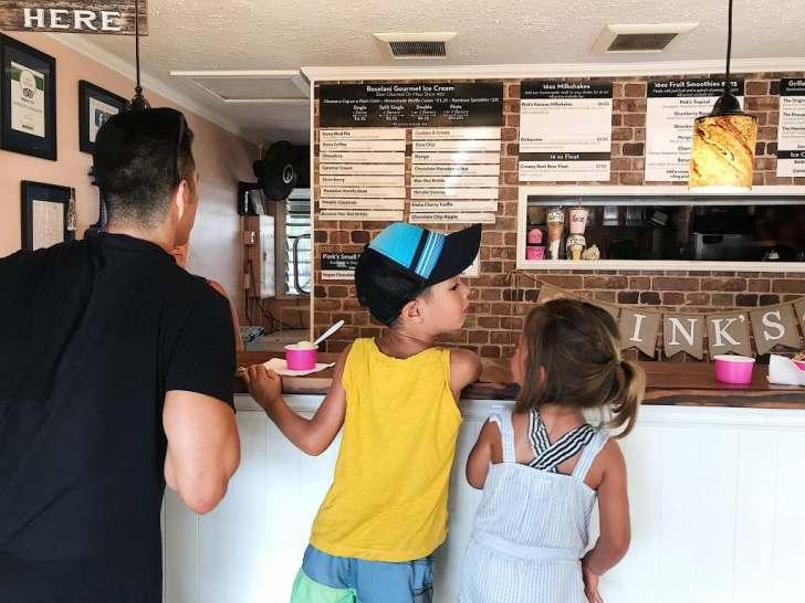 Pink's Creamery, Kauai with Kids