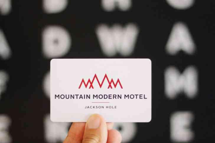 Mountain Modern, Motel, Jackson WY