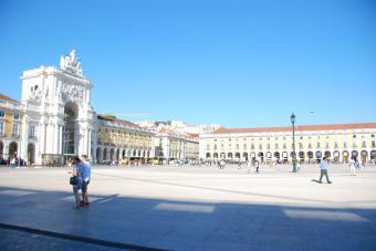 Praça do Comércio (voormalig koninklijk paleis)