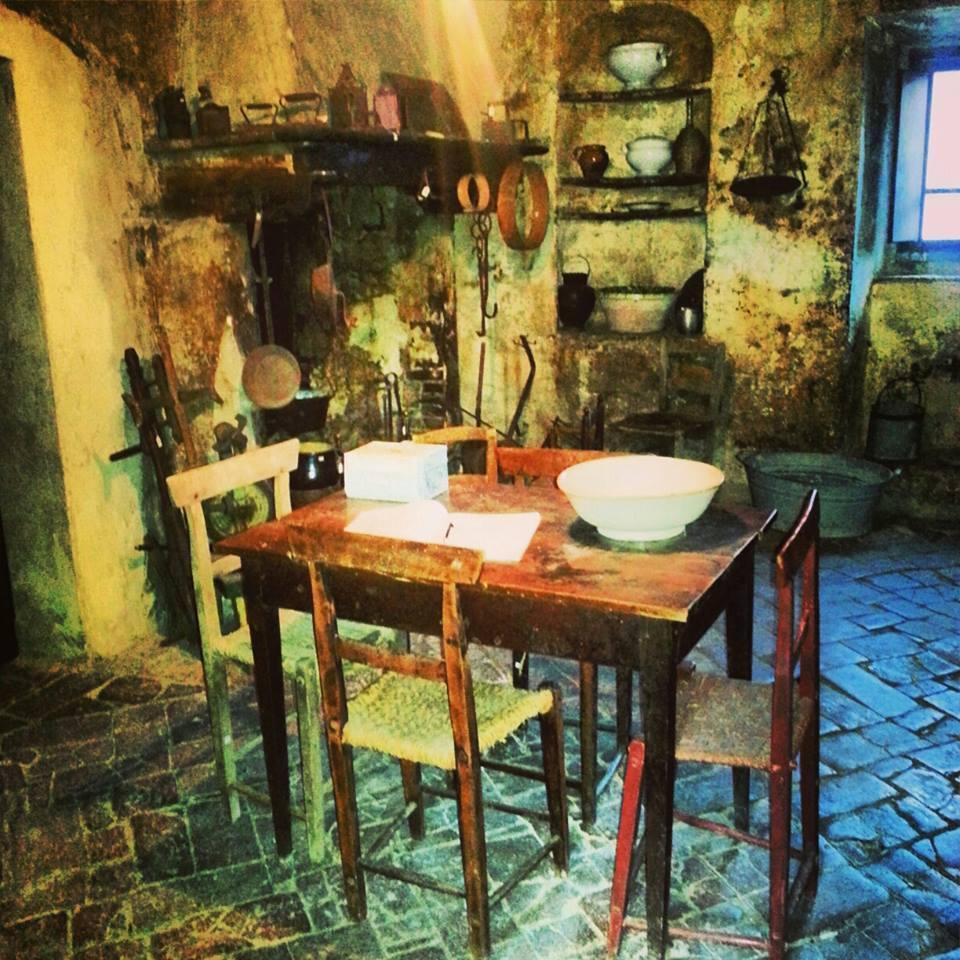 Casa Museo: la cucina e il focolare