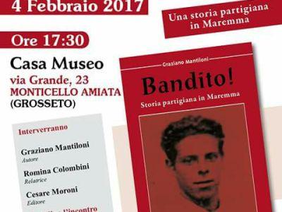 """Il libro """"Bandito!"""" sulla vita partigiana di Aroldo Colombini"""