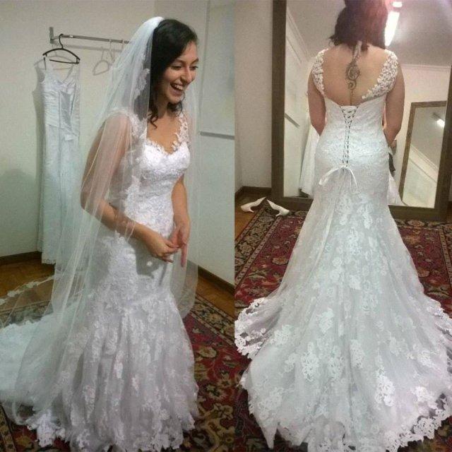 O romance épico entre uma noiva e seu vestido