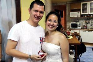 Noivado real e econômico | Jessica e Evandro