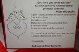Noivado real e econômico Jorge Leonardo e Andressa no Rio de Janeiro