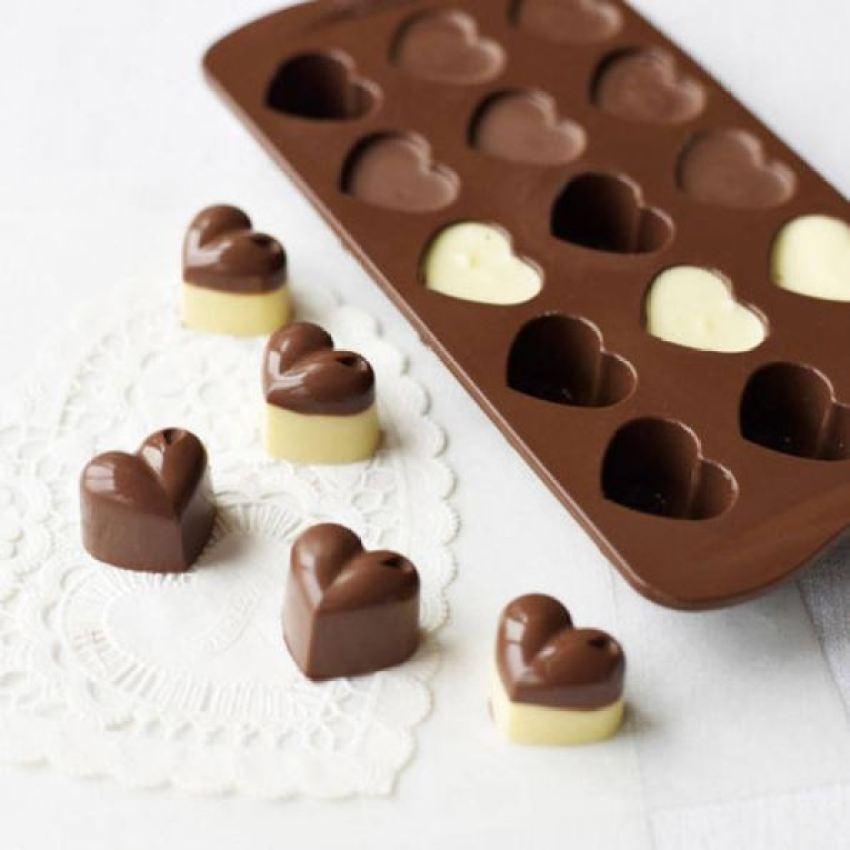 faca voce mesmo coracoes de chocolate personalizados casando sem grana tudo vira festa (11)