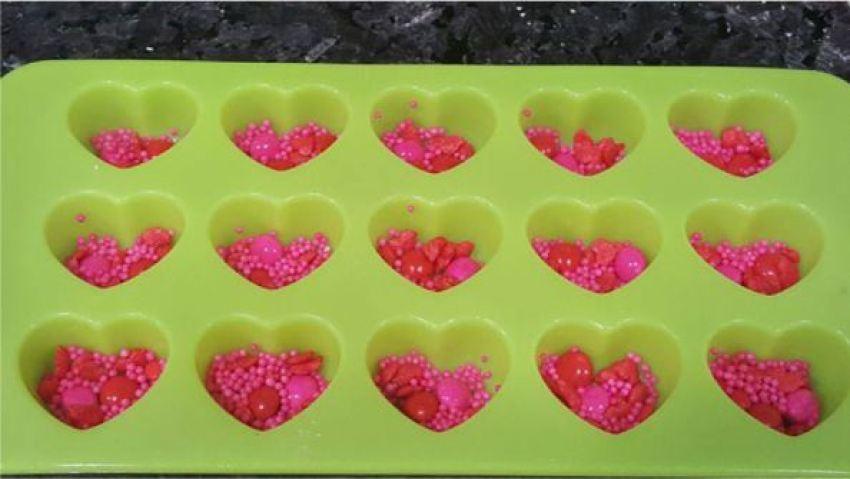 faca voce mesmo coracoes de chocolate personalizados casando sem grana tudo vira festa (3)