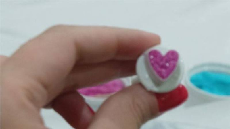 Faça você mesmo tutorial corações de açúcar