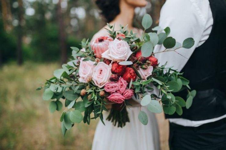 Buquê rustico para casamento