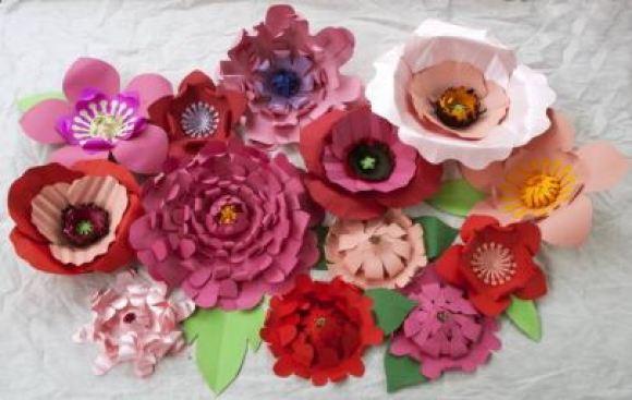 Flores gigantes para decoração de casamentos