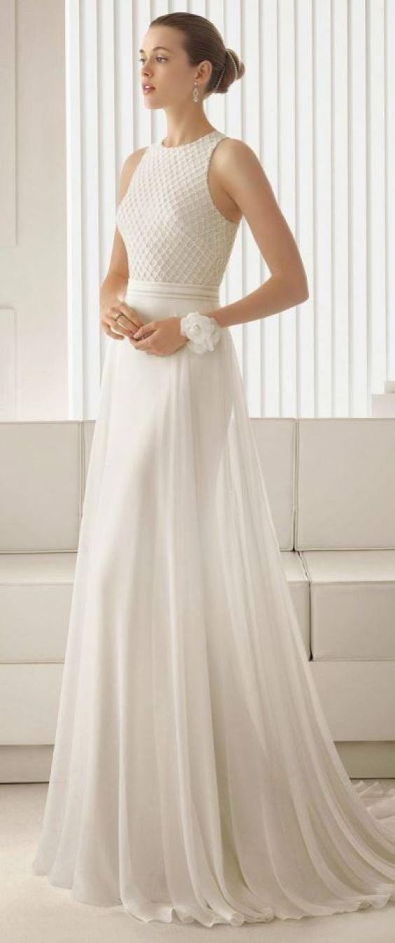 Modelos de vestido de noiva para segundo casamento   Casando sem Grana