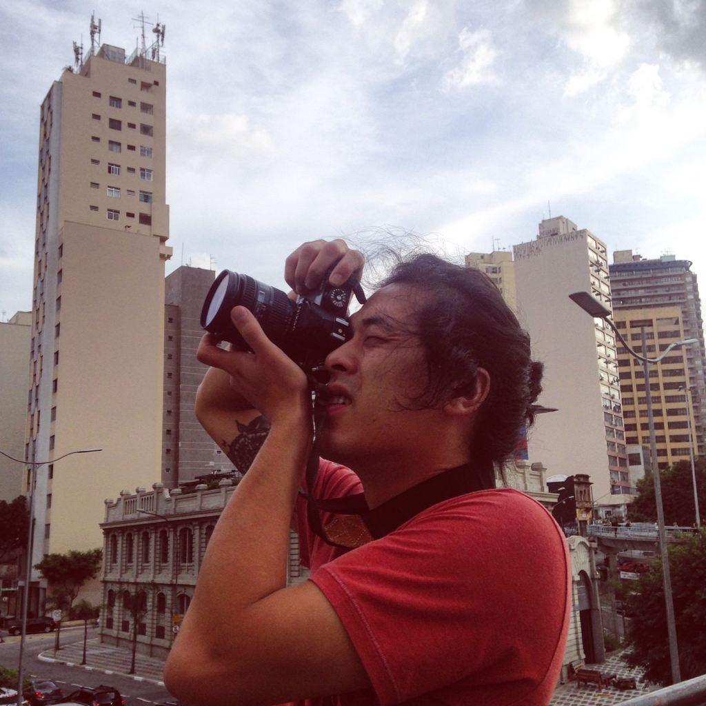 João Kadota barista fotógrafo