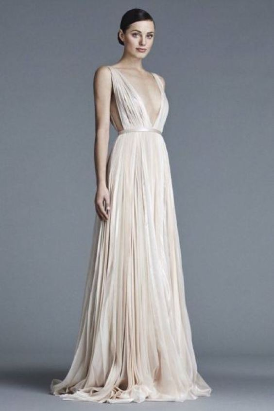 Tendências em vestido de Noiva.