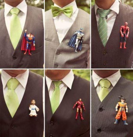 lapela geek casamento