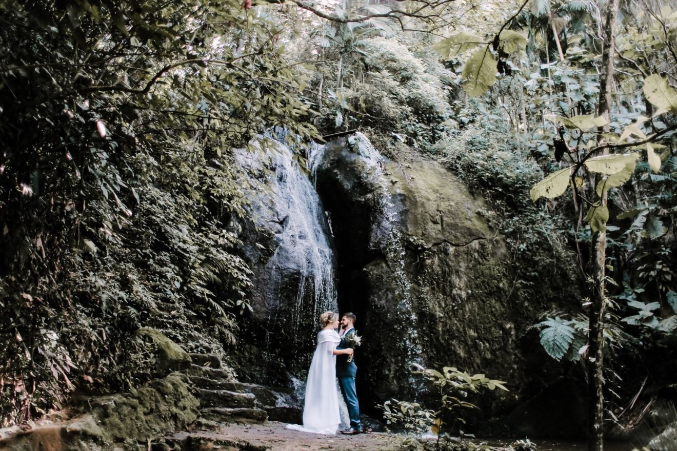 casamento surpresa cachoeira