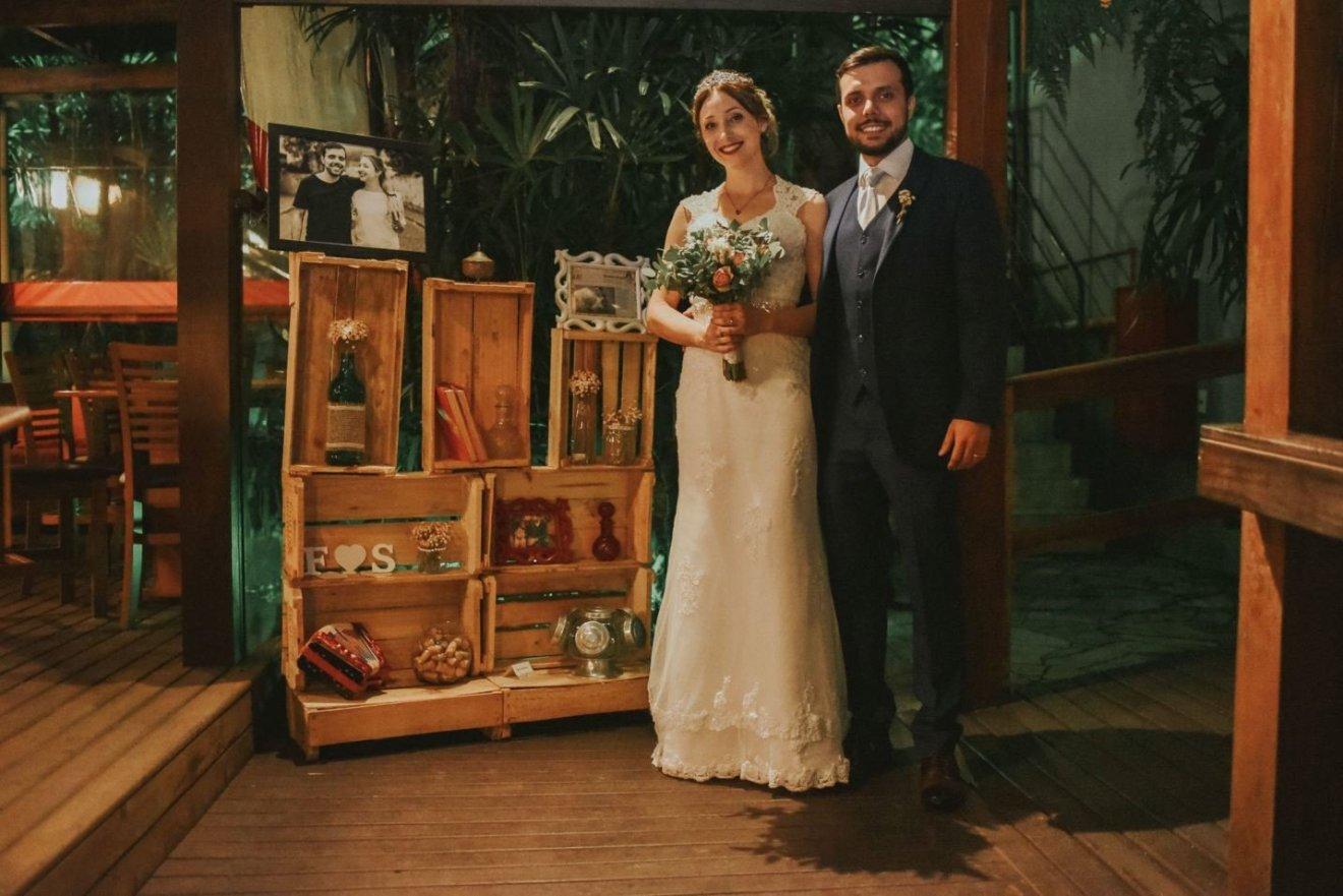 mini wedding rústico DIY