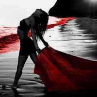 A minha paixão tem tons de vermelho