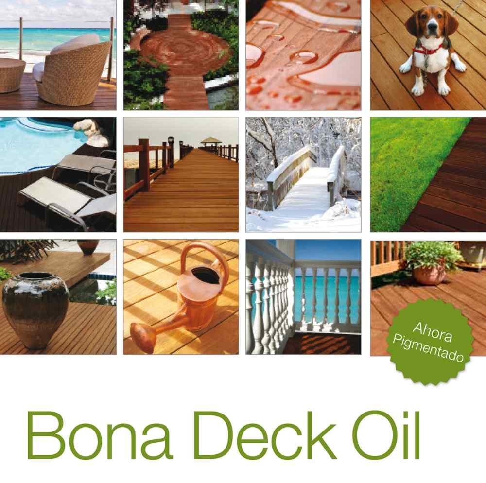 Aceite especial para madera de exterior bona deck oil - Aceite para madera exterior ...