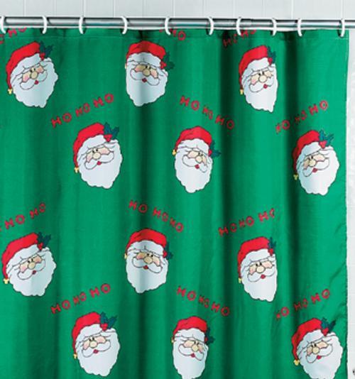 Accesorios para decorar el cuarto de ba o en navidad for Accesorios para cortinas de bano