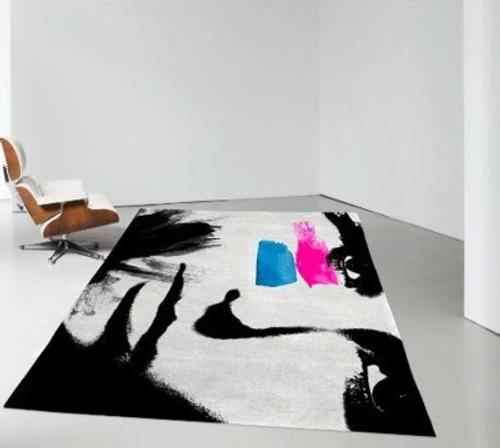 Alfombras art sticas para interiores modernoss for Paredes artisticas