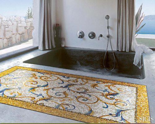 Espectaculares alfombras de mosaicos - Alfombras originales ...