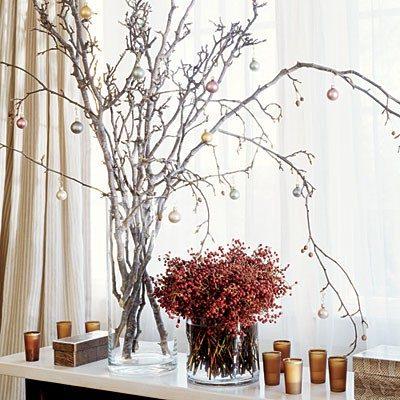 árbol de navidad rústico