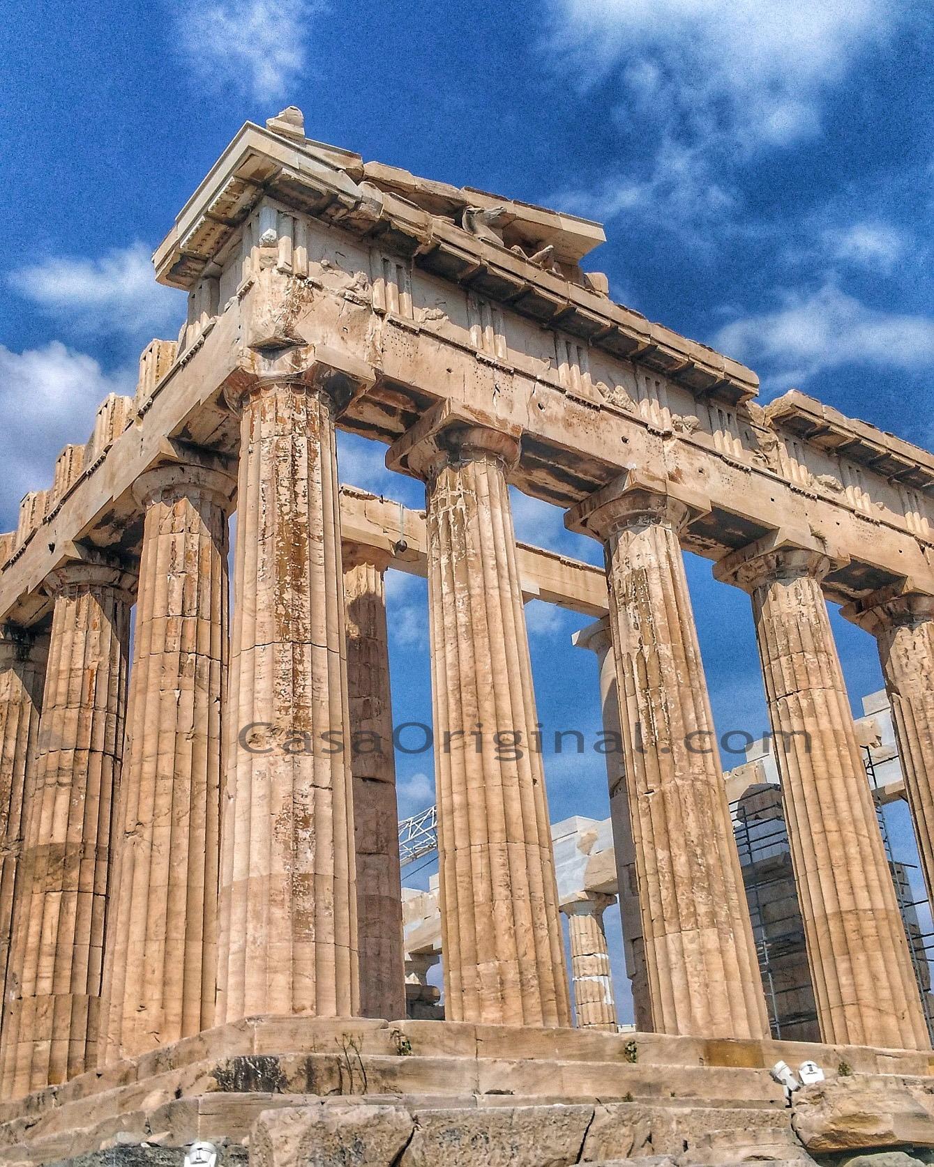 arquitectura clásica en Atenas