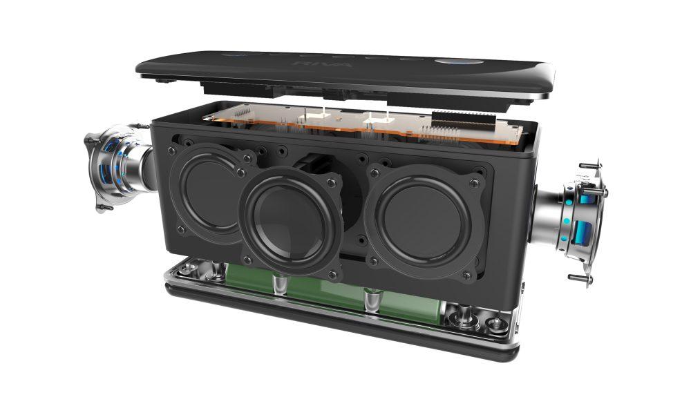 audio portátil riva