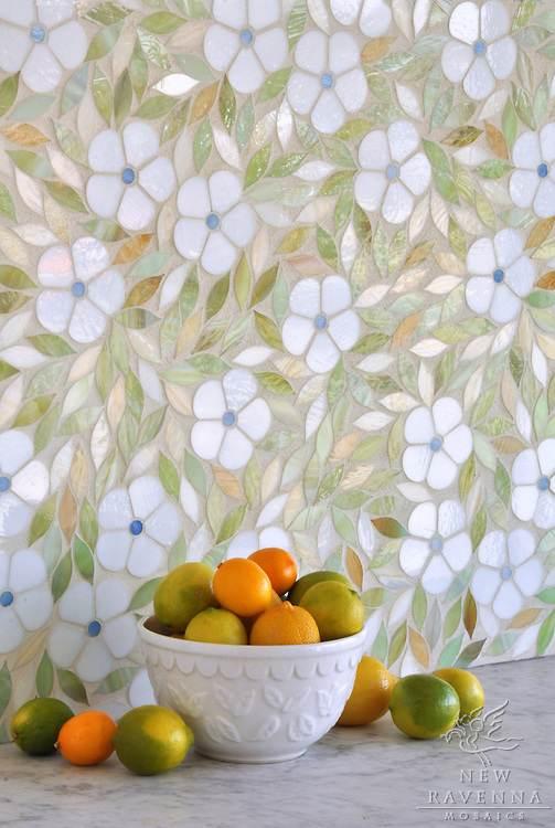 Nuevos mosaicos con dise os nicos - Azulejos para mosaicos ...
