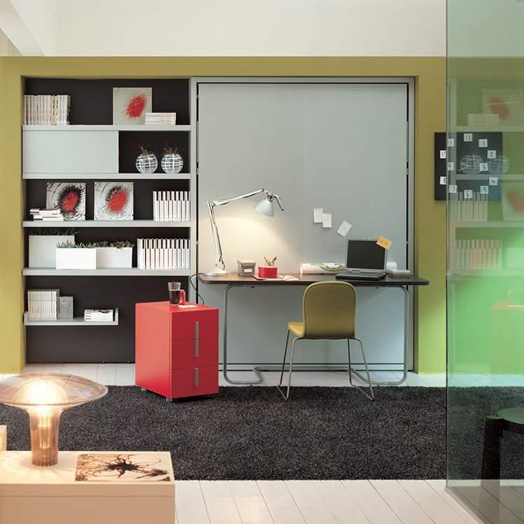 cama y escritorio integrados