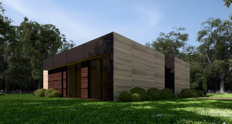 Casas modulares de acero awesome beautiful design acero casas modulares acero casas casas de - Casas modulares acero ...