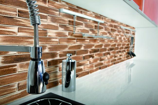 Cer micas para revestimientos y pavimentos de cocinas for Ceramica decorativa para cocina