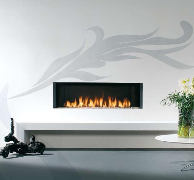 Colecci n 2009 de chimeneas faber - Chimeneas gas natural ...