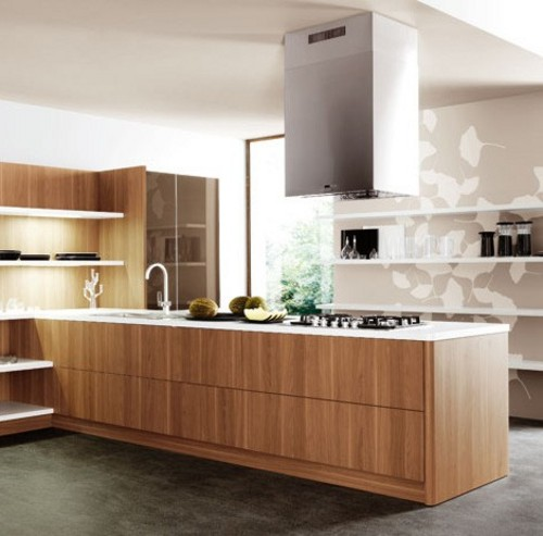 Cocinas de dise o con estantes for Cocinas de diseno italiano