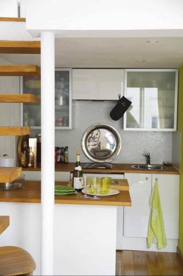 Decora con buenas ideas una peque a cocina for Como se decora una cocina pequena