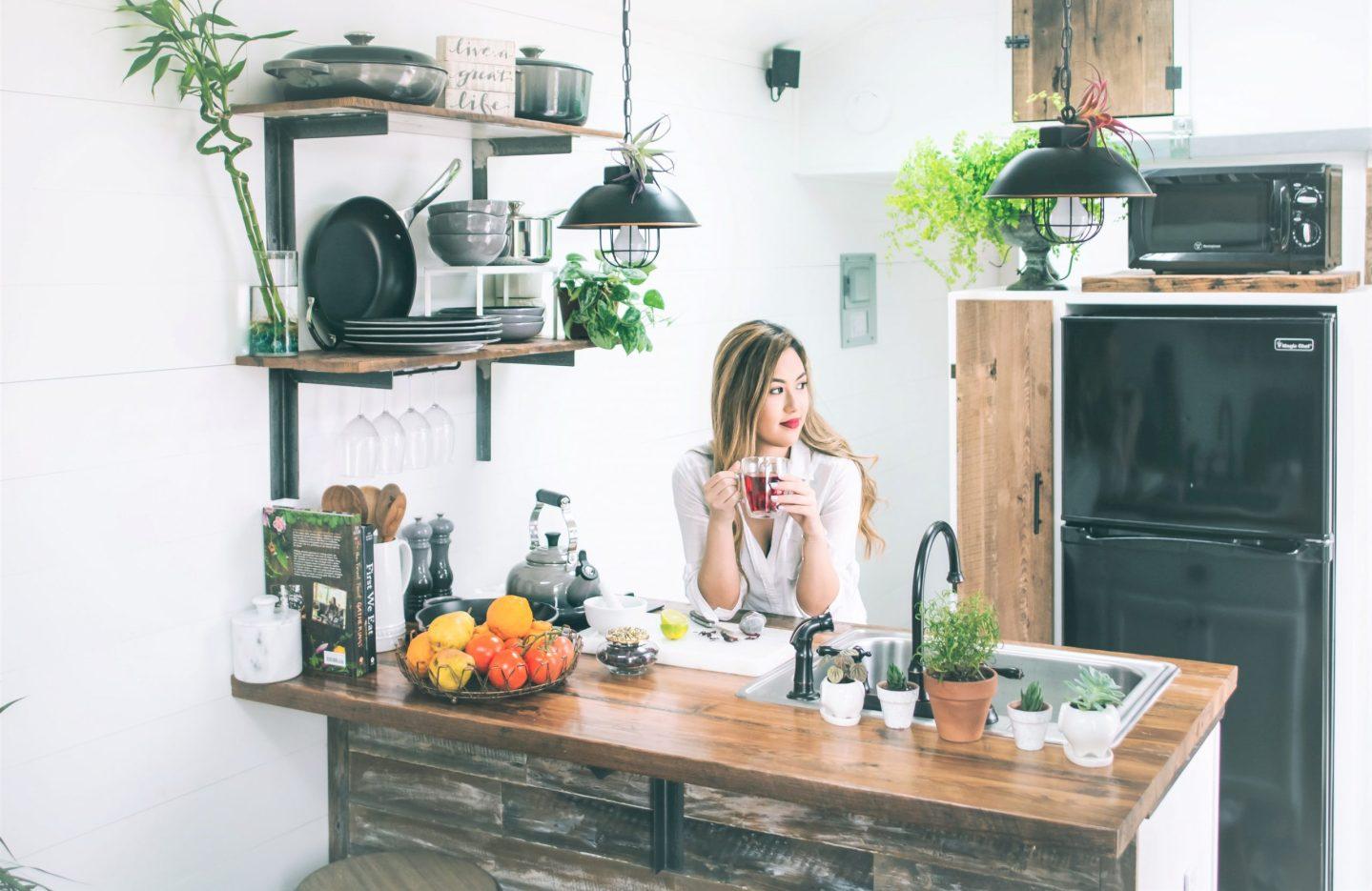 Cómo equipar cocinas pequeñas