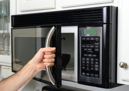 cómo limpiar el microondas