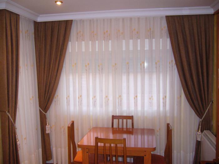 Vestir una ventana tipos de cortinas - Tipos de telas para cortinas ...