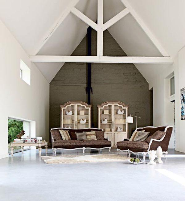 country chic sof elegante de roche bobois. Black Bedroom Furniture Sets. Home Design Ideas