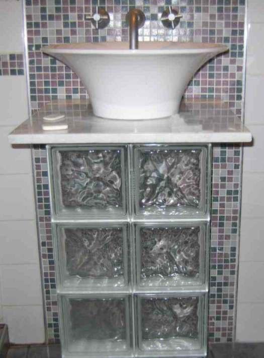 usos del cristal de pavés
