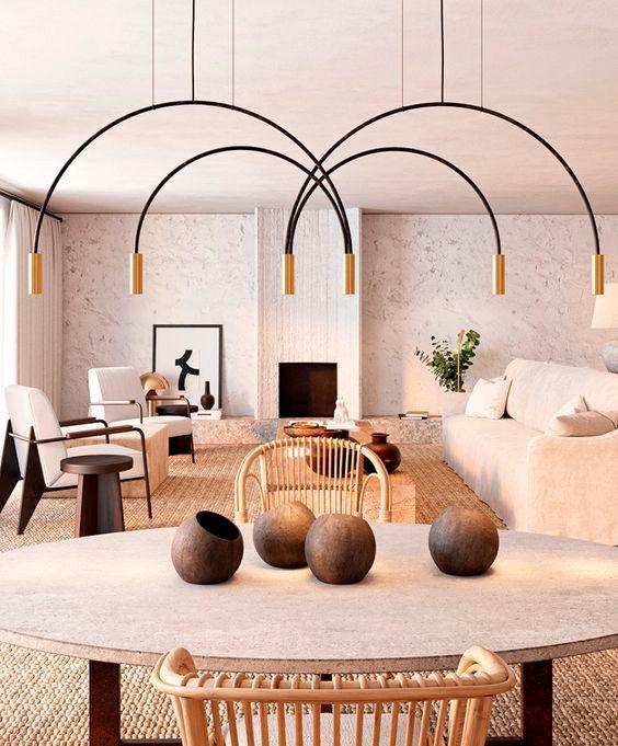 curvas en accesorios y muebles