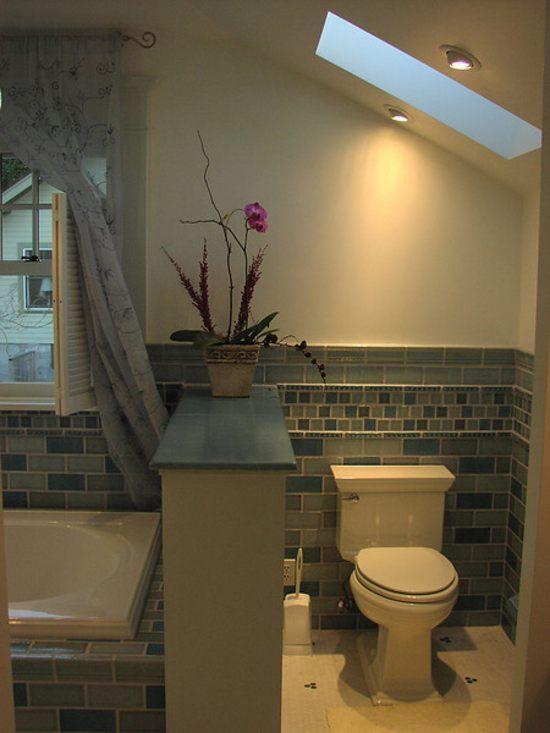 crear zonas en un baño