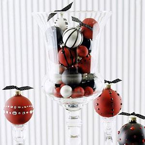 una forma original de presentar los adornos navideños
